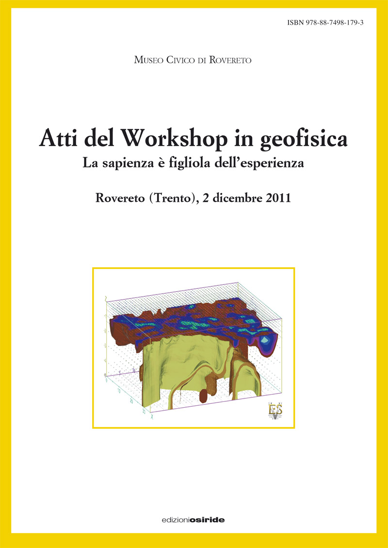 Atti del Workshop in geofisica (2011)